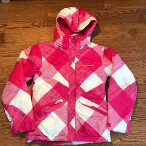 Columbia girls ski winter jacket